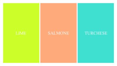 Armocromia: abbinamenti per palette Primavera